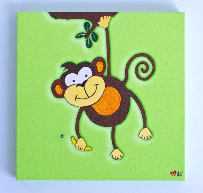 Monkey Canvas Green - 1